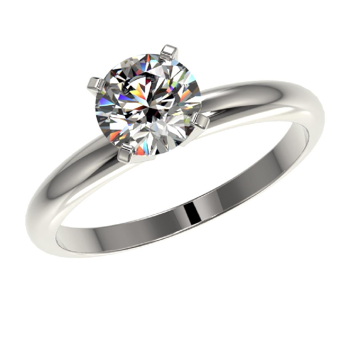 1.25 CTW Certified H-SI/I Quality Diamond Solitaire - 2