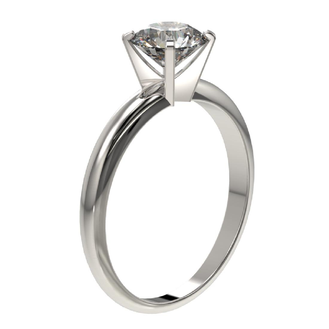 1.25 CTW Certified H-SI/I Quality Diamond Solitaire - 3