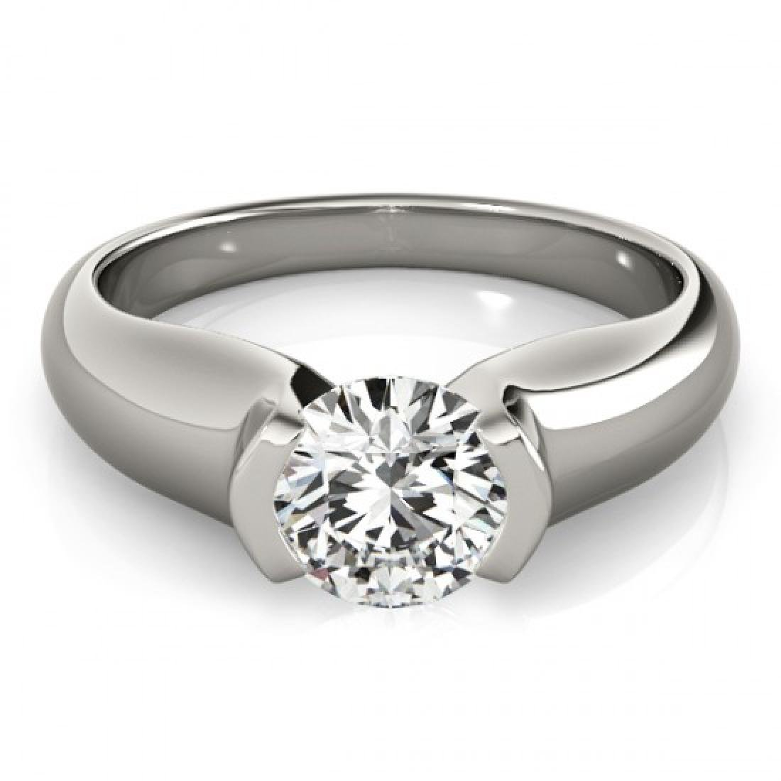 0.5 CTW Certified VS/SI Diamond Solitaire Ring 14K