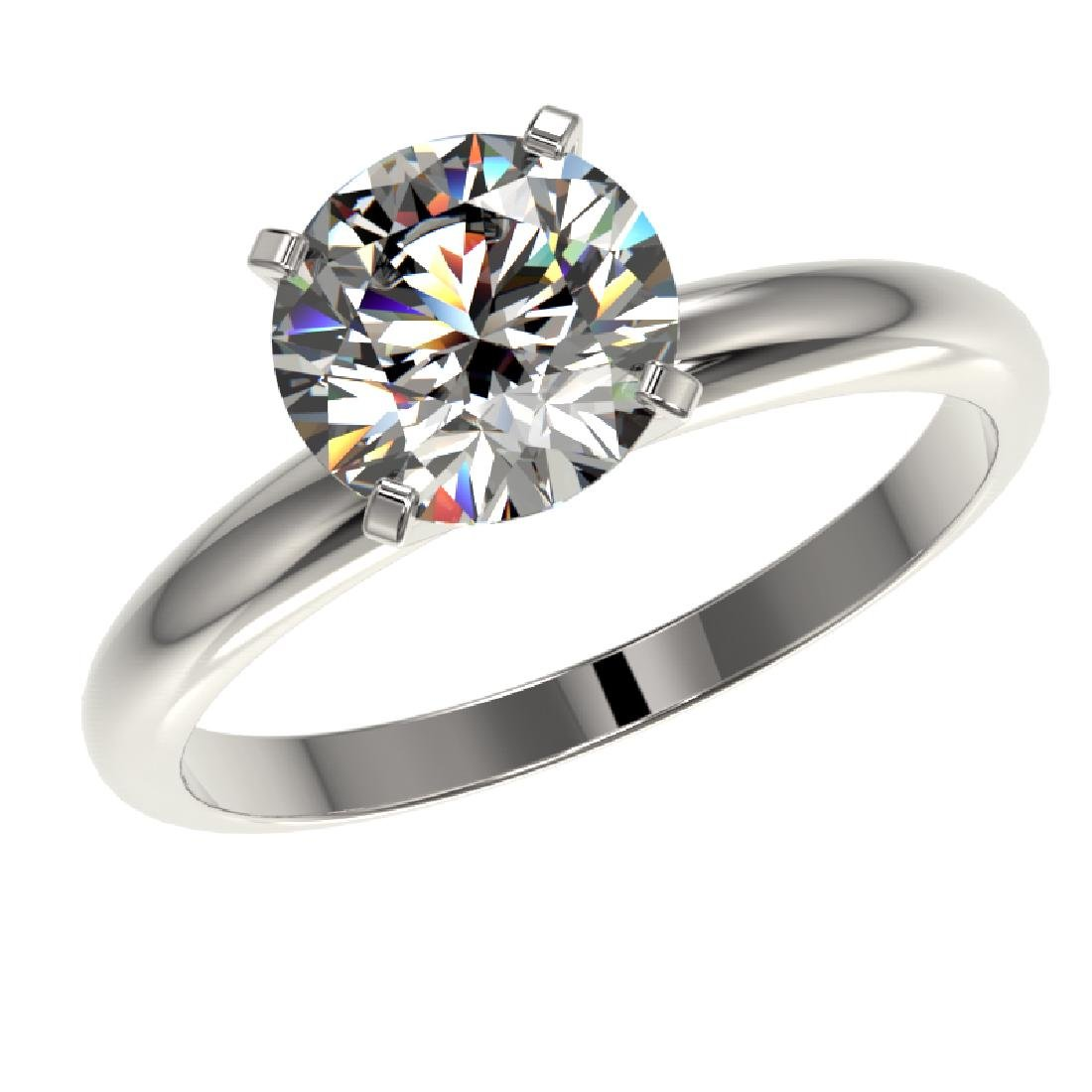 2.03 CTW Certified H-SI/I Quality Diamond Solitaire - 2