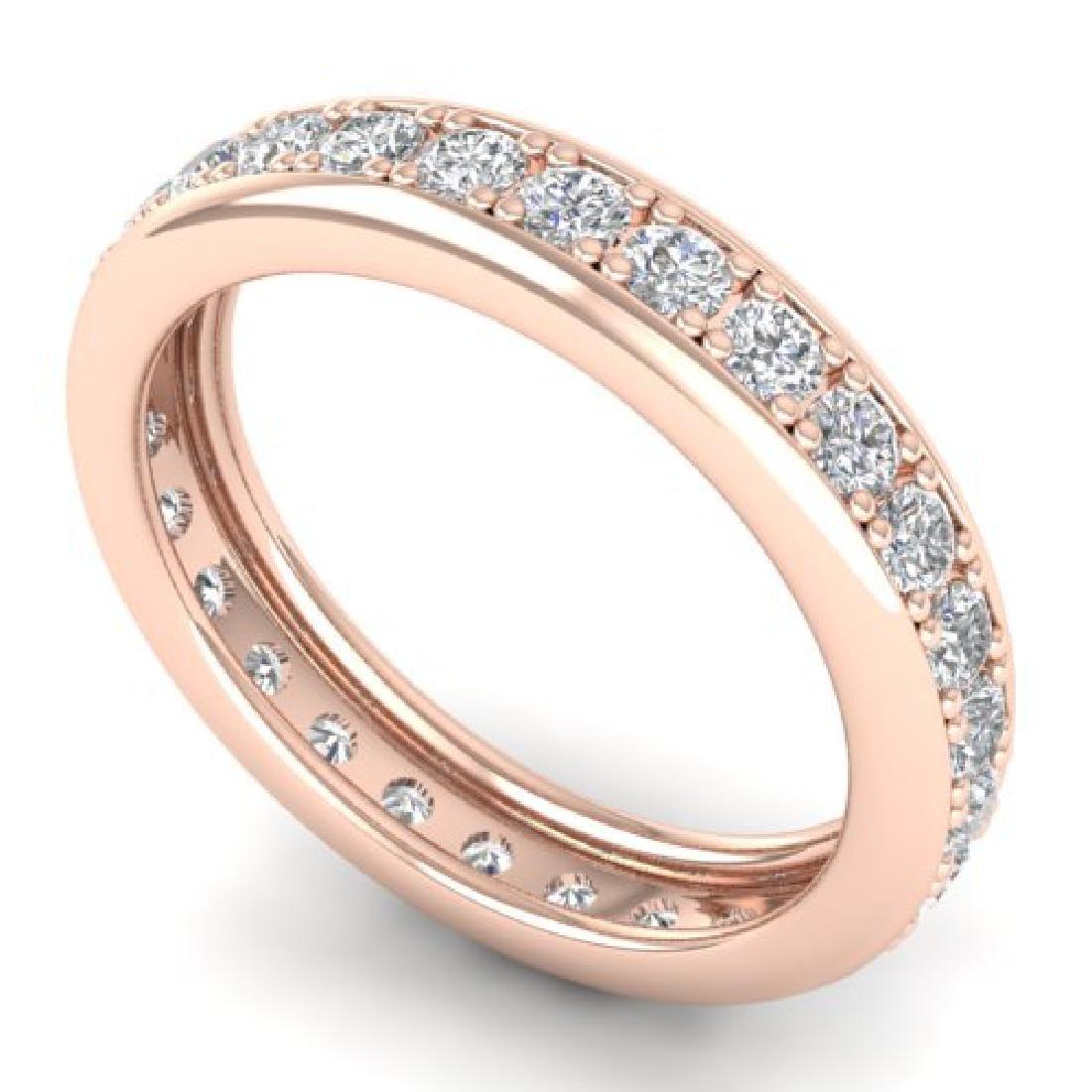 1.33 CTW Certified VS/SI Diamond Eternity Band Ladies - 2