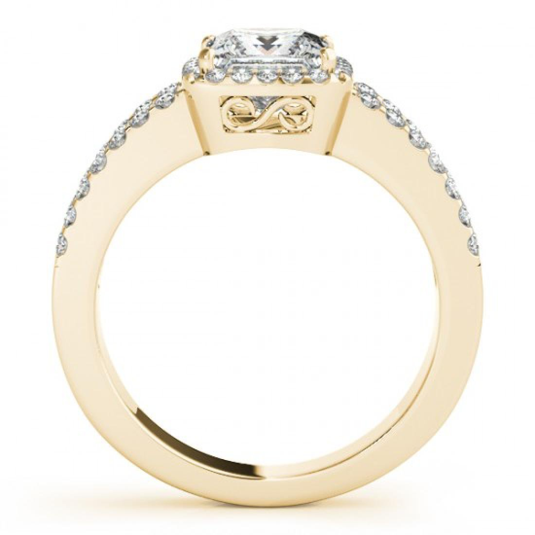 1.26 CTW Certified VS/SI Princess Diamond Solitaire - 2