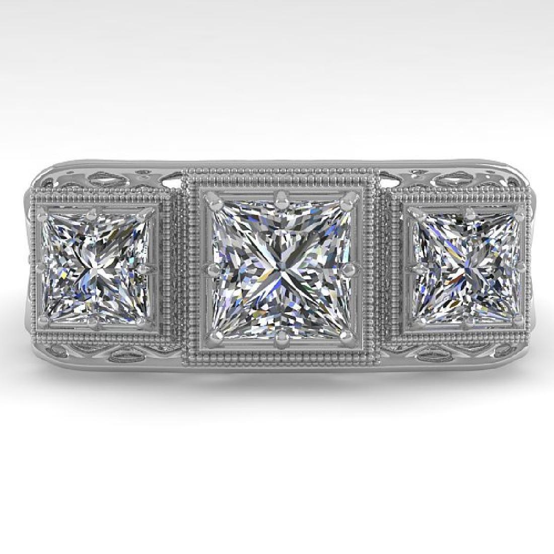 2 CTW VS/SI Princess Diamond Ring 14K White Gold