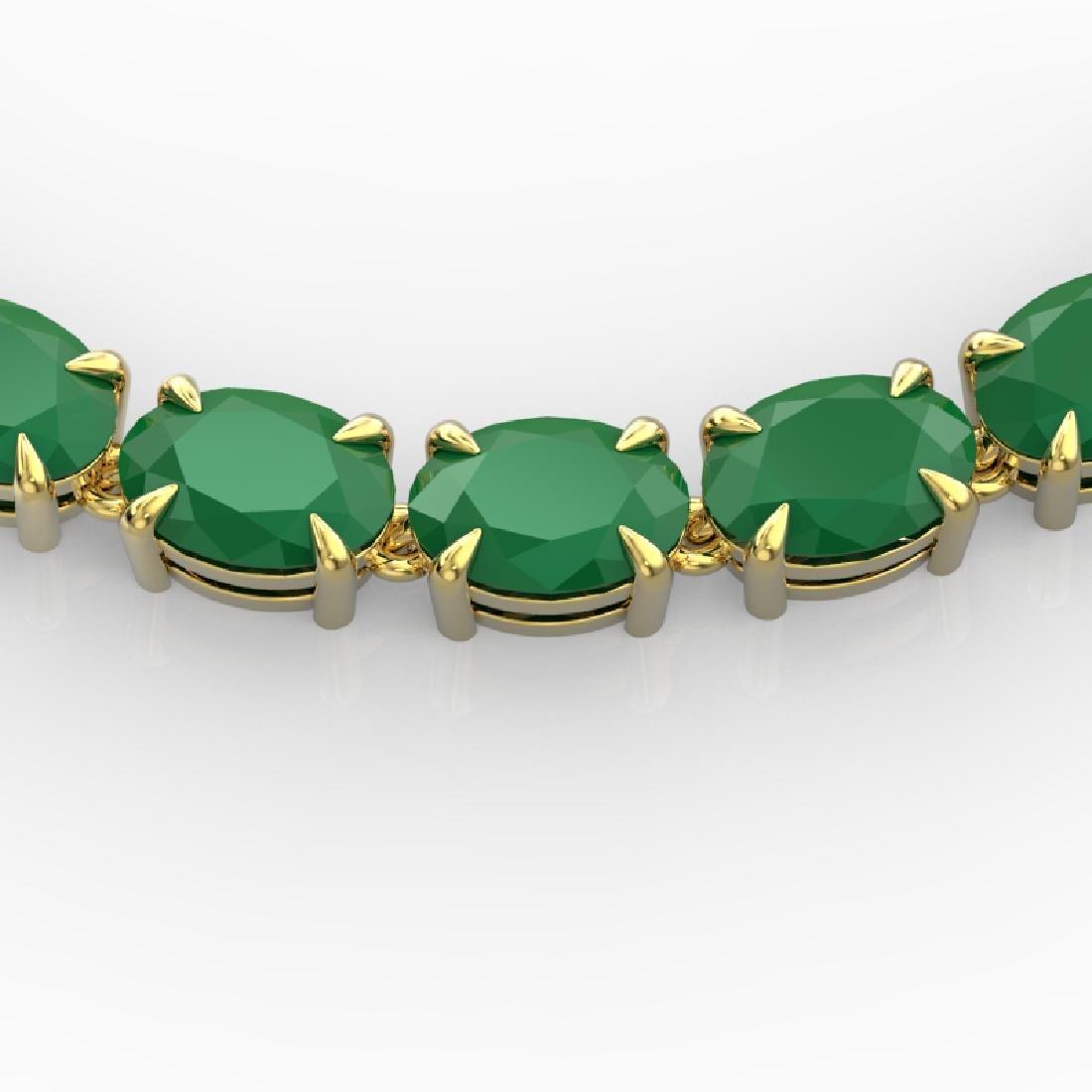68 CTW Emerald Eternity Designer Inspired Tennis