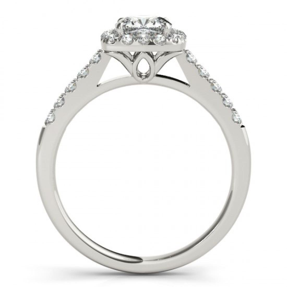 1.45 CTW Certified VS/SI Cushion Diamond Solitaire Halo - 2