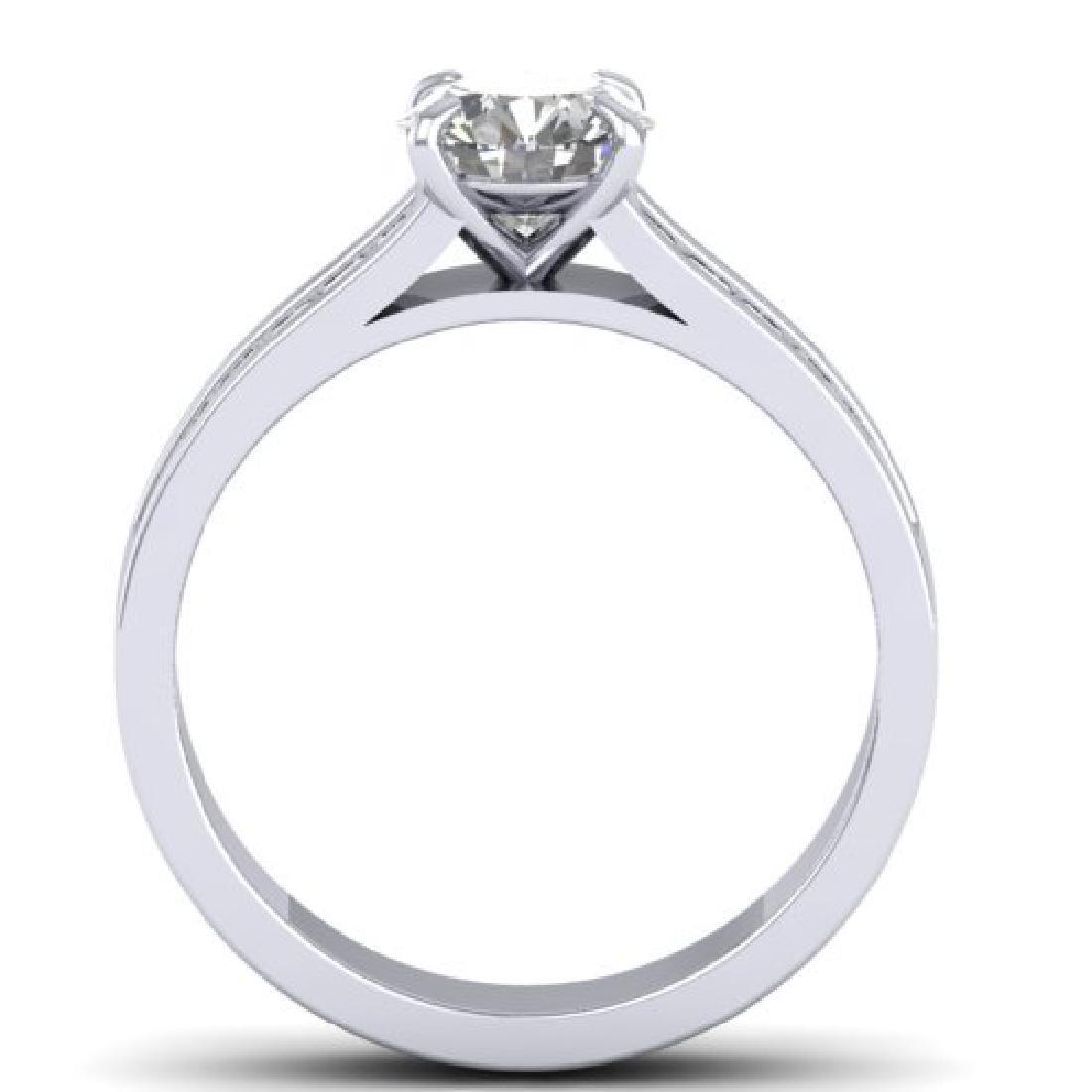 1.75 CTW Certified VS/SI Diamond Solitaire Art Deco - 2
