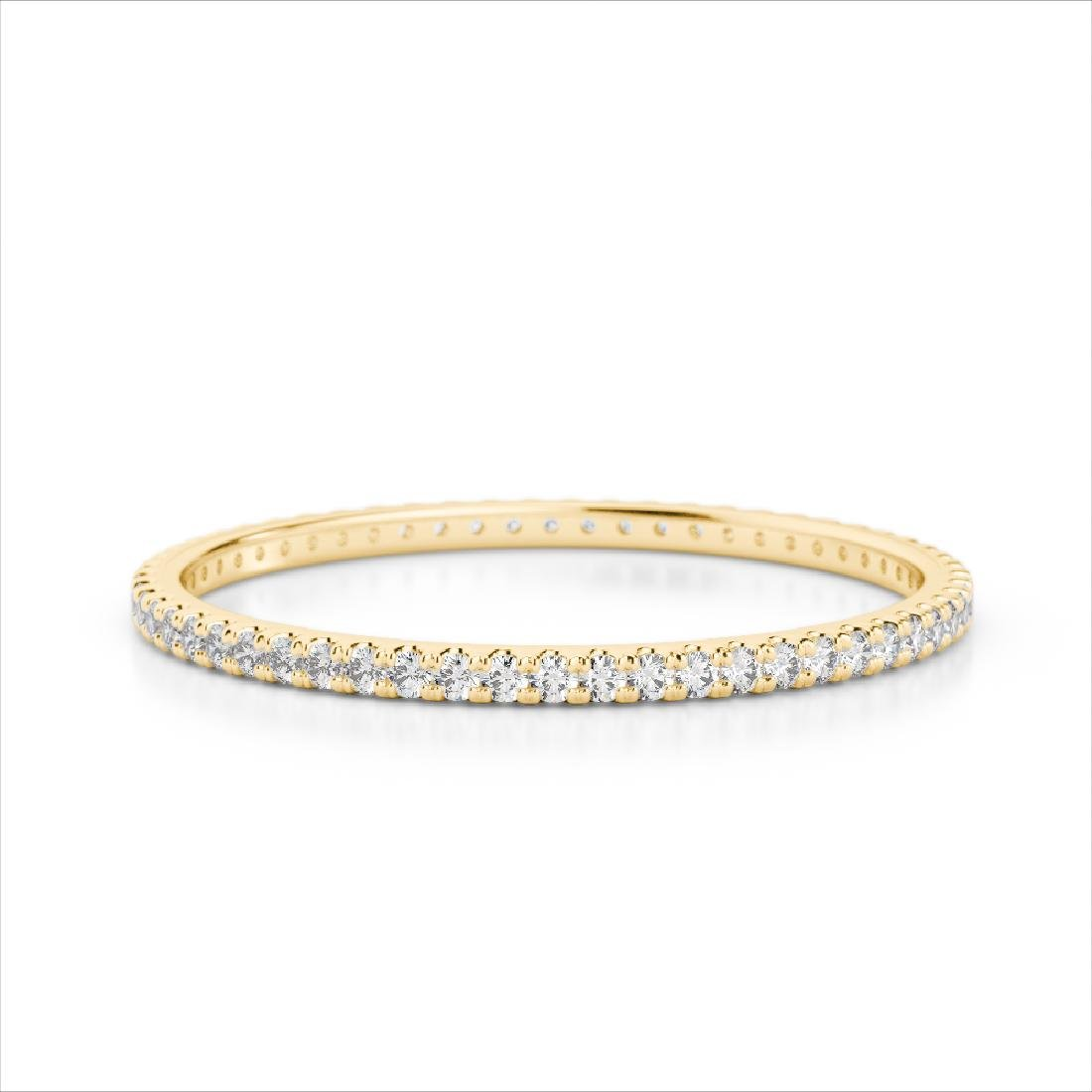 0.50 CTW Eternity Micro Pave VS/SI Diamond Band Ring