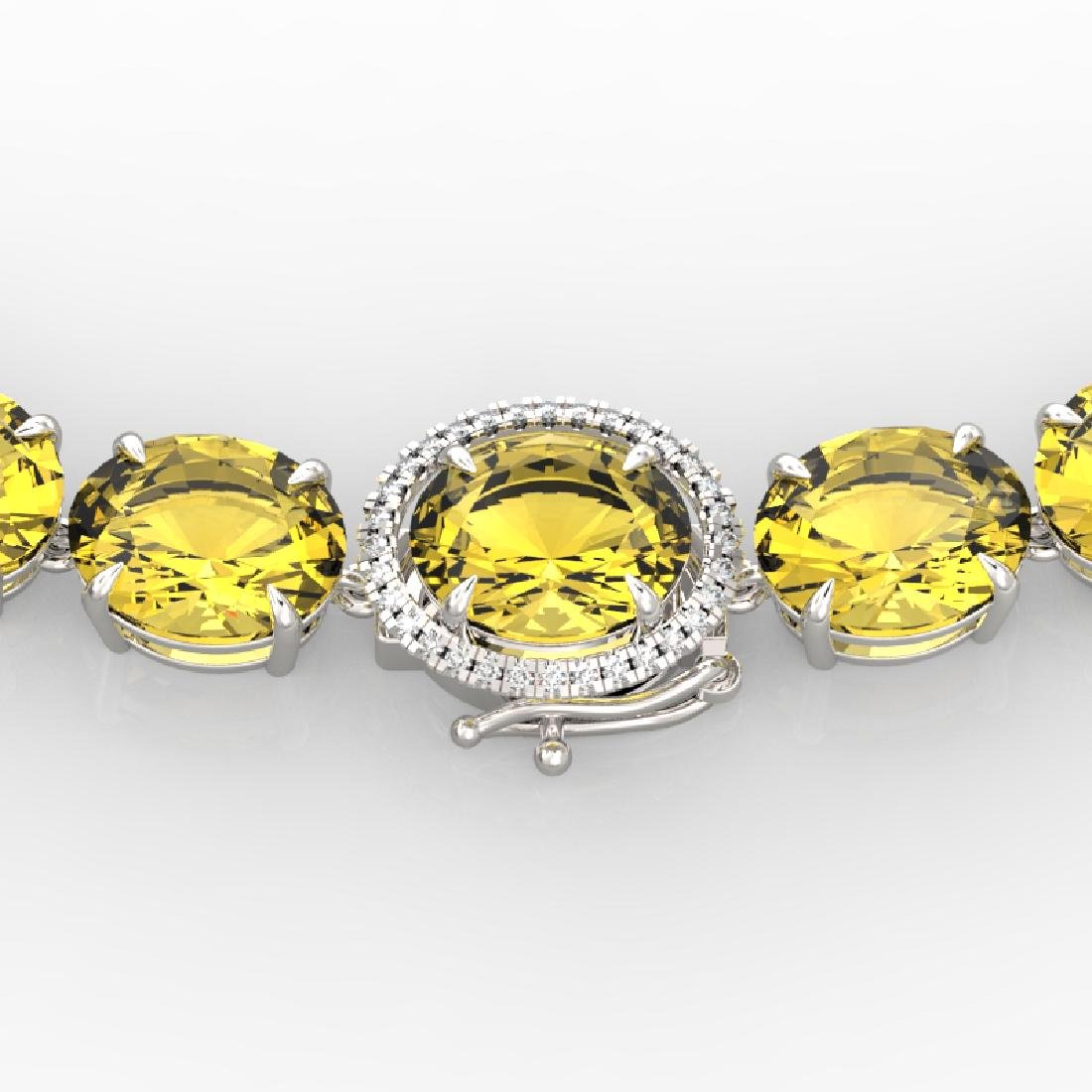 175 CTW Citrine & VS/SI Diamond Halo Micro Solitaire