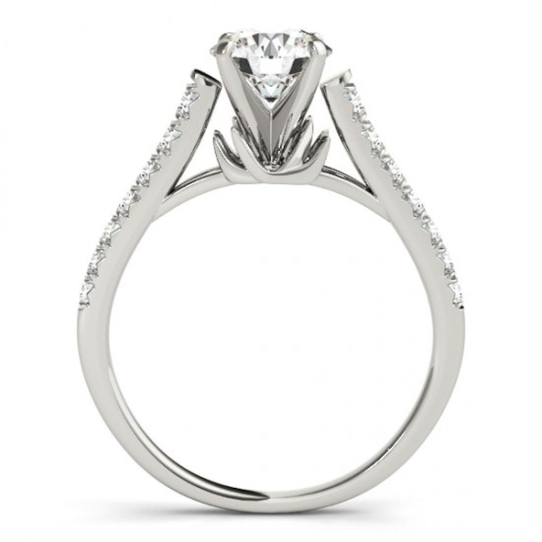 1.46 CTW Certified VS/SI Diamond Solitaire Ring 14K - 2