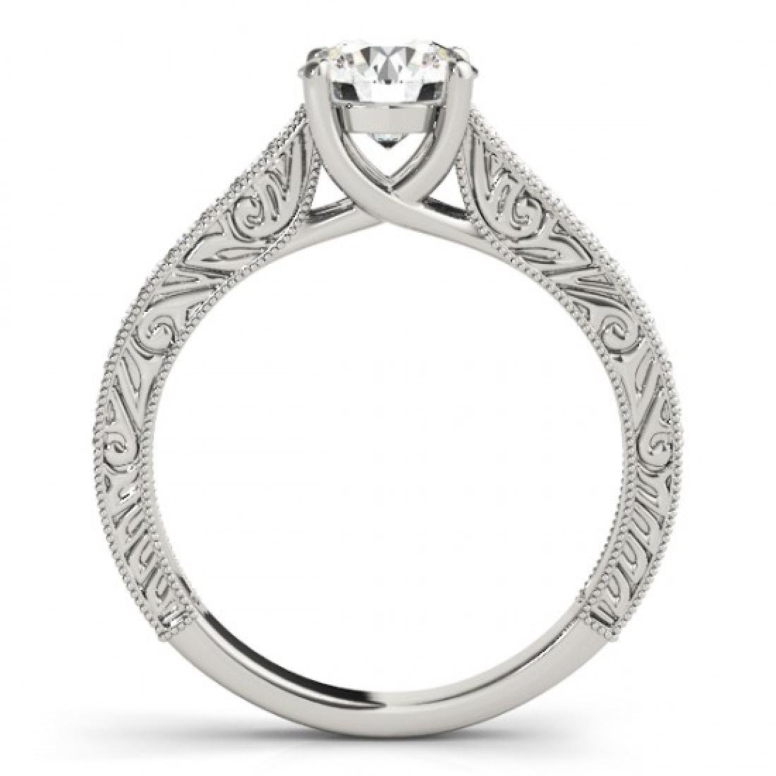 1.32 CTW Certified VS/SI Diamond Solitaire Ring 14K - 2