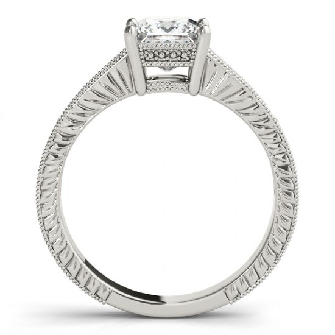 1.5 CTW Certified VS/SI Princess Diamond Solitaire - 2