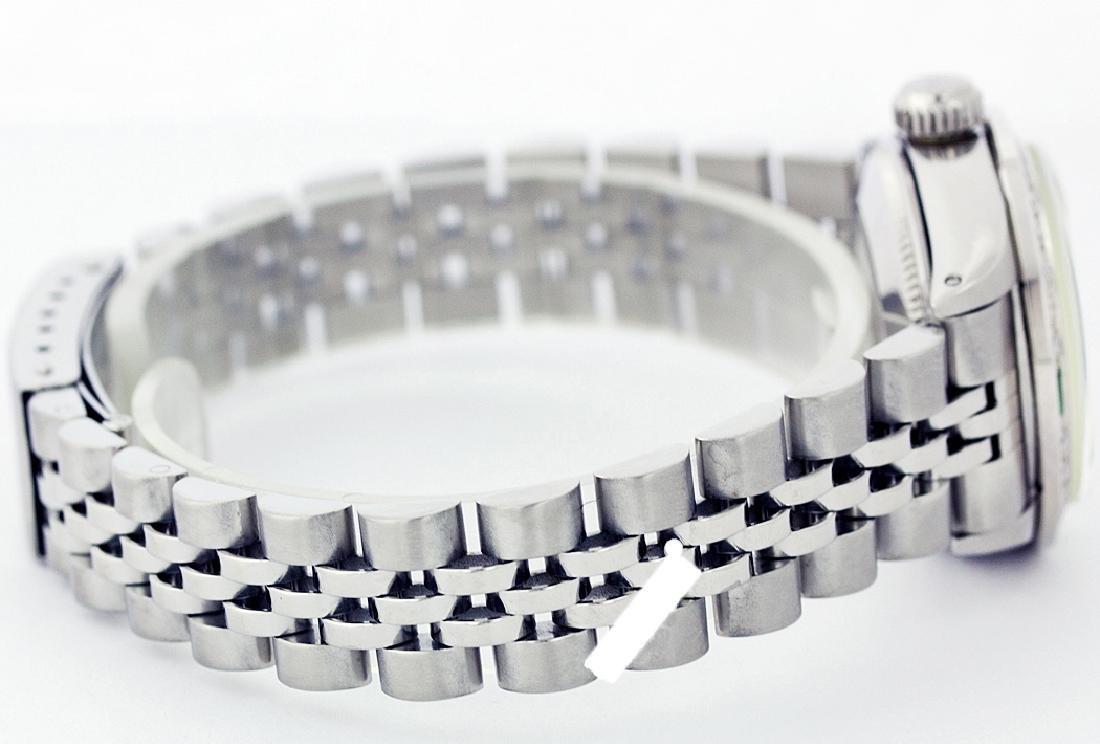 Rolex Ladies Stainless Steel, Diam Dial & Diam/Emerald - 2