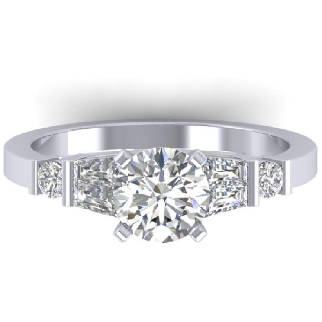 1.69 CTW Certified VS/SI Diamond Solitaire Ring 18K