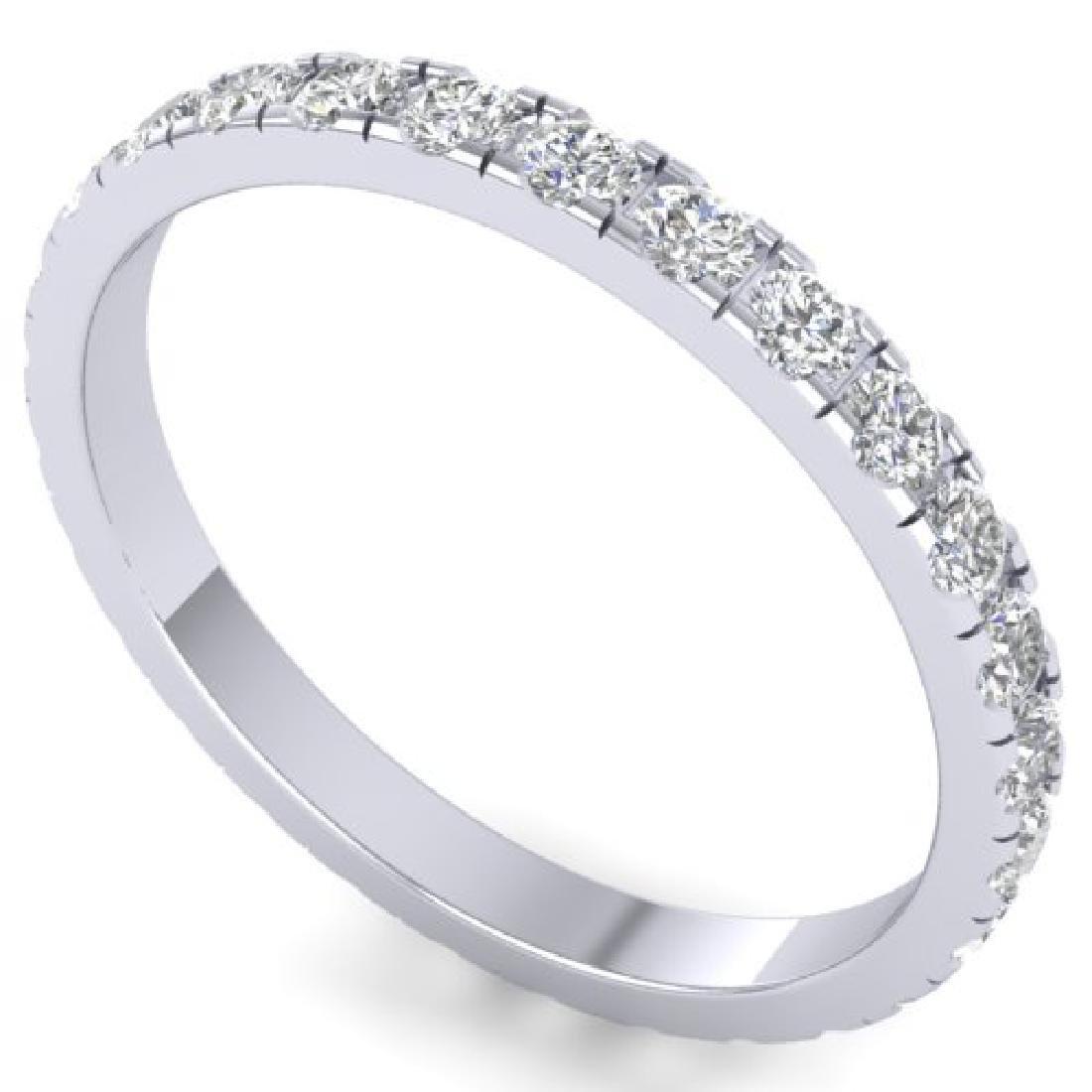 1 CTW Certified VS/SI Diamond Art Deco Eternity Band - 2