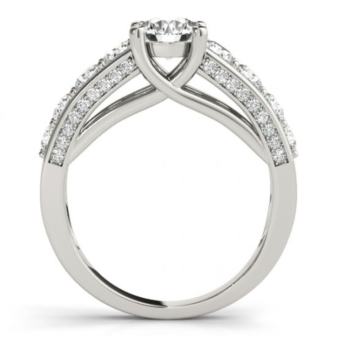 3.05 CTW Certified VS/SI Diamond Solitaire Ring 14K - 2