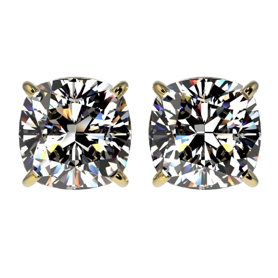 2.50 CTW Certified VS/SI Quality Cushion Cut Diamond