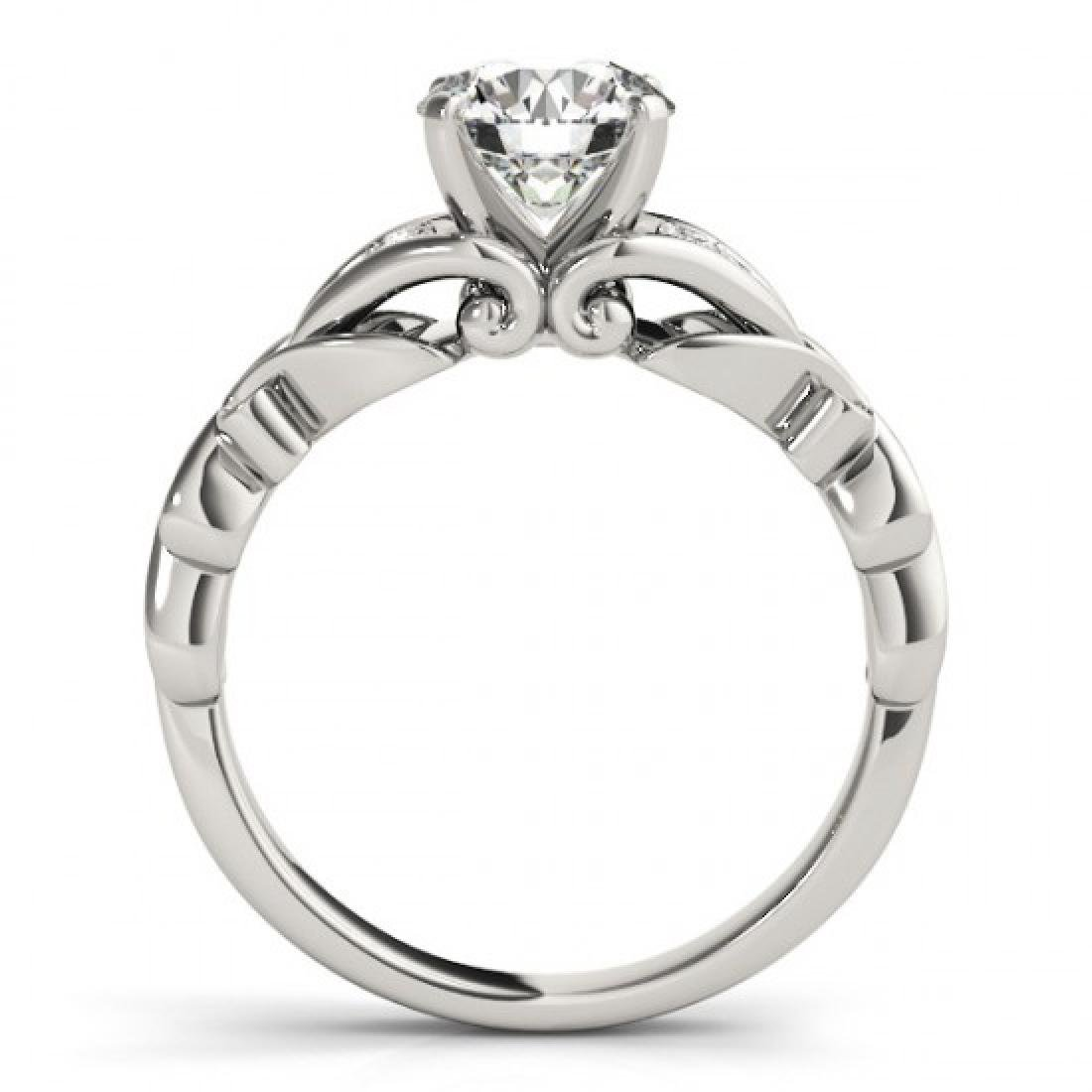 1.35 CTW Certified VS/SI Diamond Solitaire ring 14K - 2