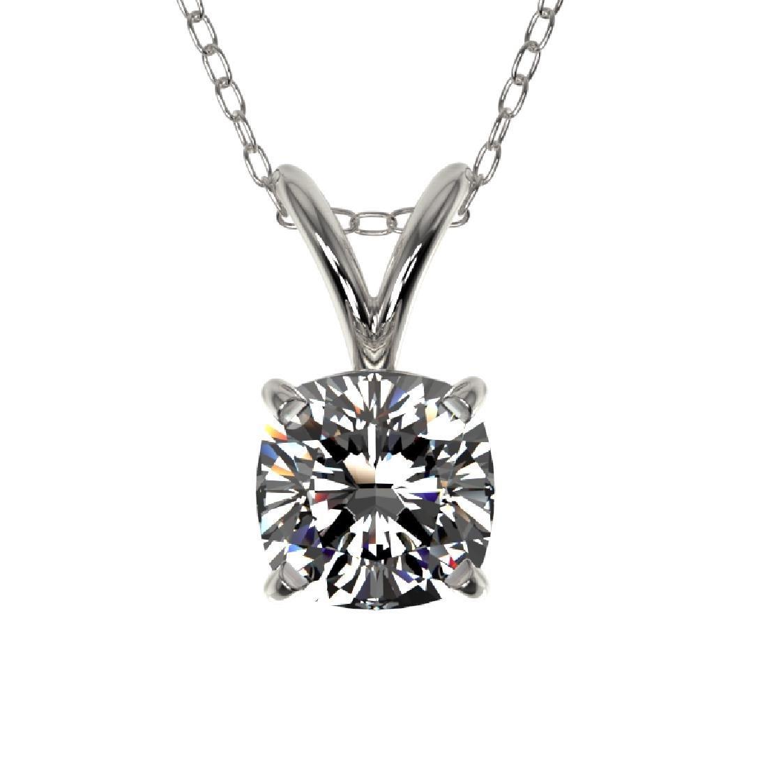 0.50 CTW Certified VS/SI Quality Cushion Cut Diamond