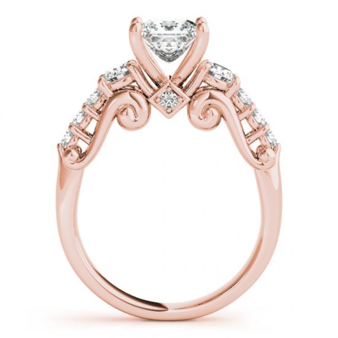 1.75 CTW Certified VS/SI Diamond 3 Stone Princess Cut - 2