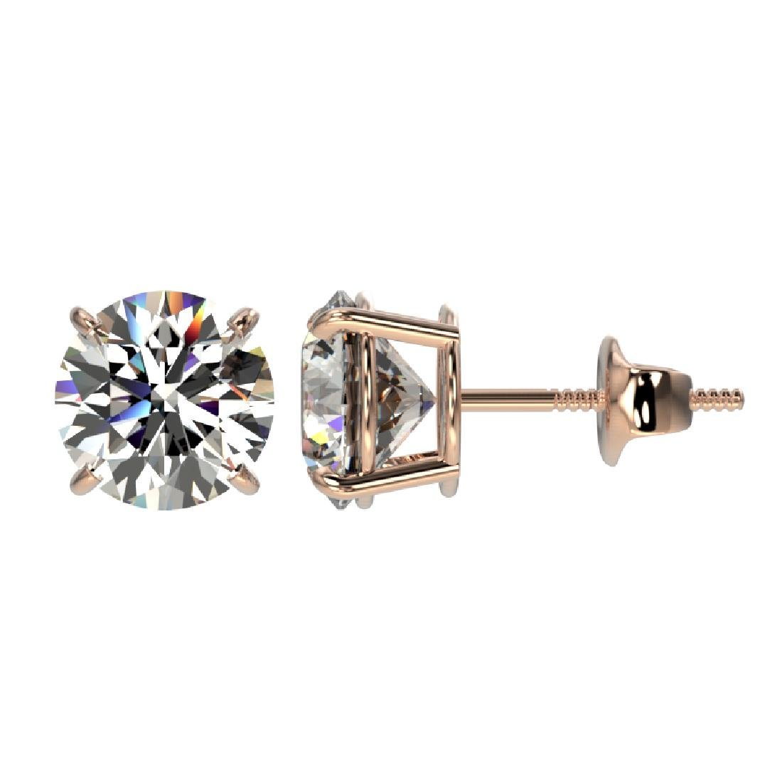 2.07 CTW Certified H-SI/I Quality Diamond Solitaire - 2