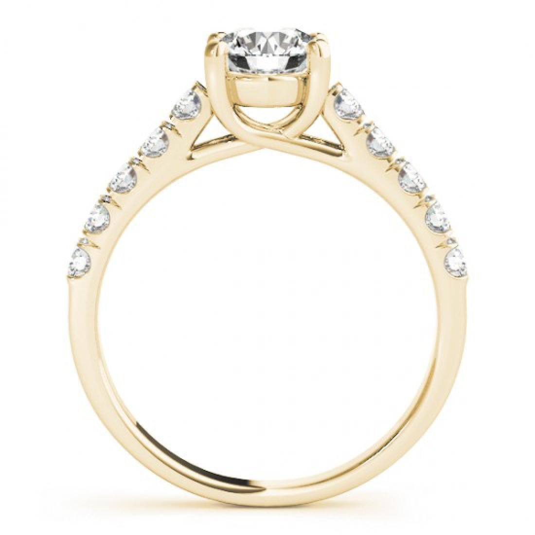 2.1 CTW Certified VS/SI Diamond Solitaire Ring 14K - 2