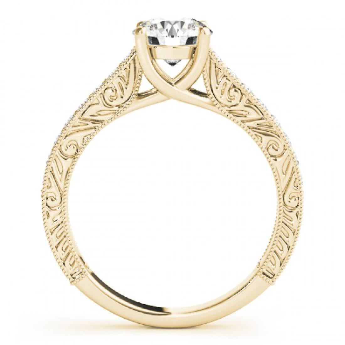 1.82 CTW Certified VS/SI Diamond Solitaire Ring 14K - 2