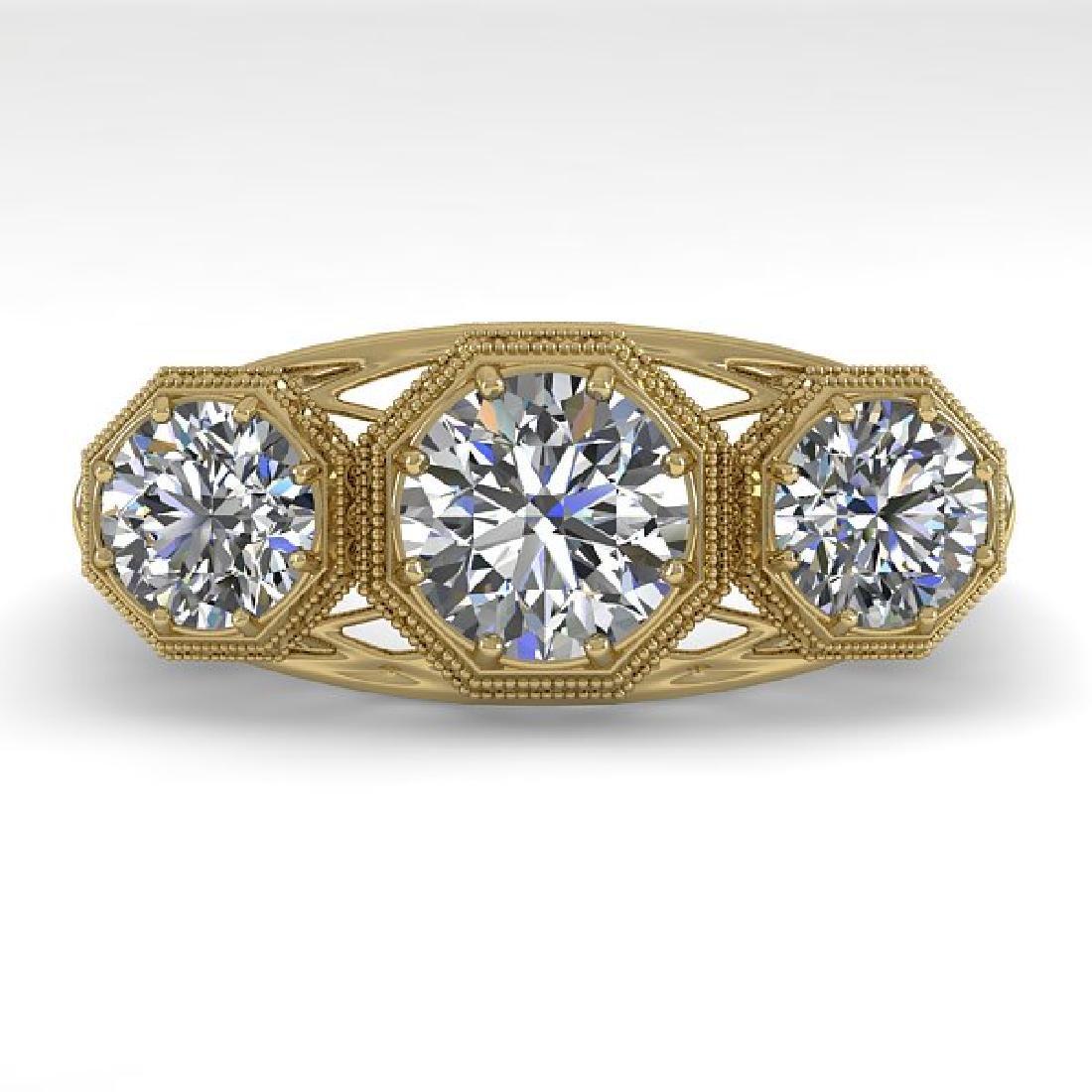 2 CTW VS/SI Diamond Ring 14K Yellow Gold