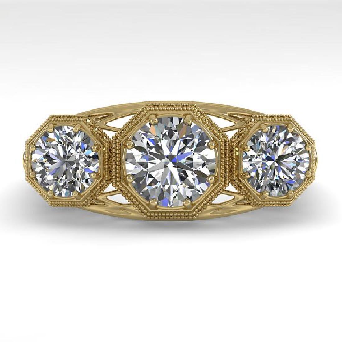 2 CTW VS/SI Diamond Ring 14K Yellow Gold