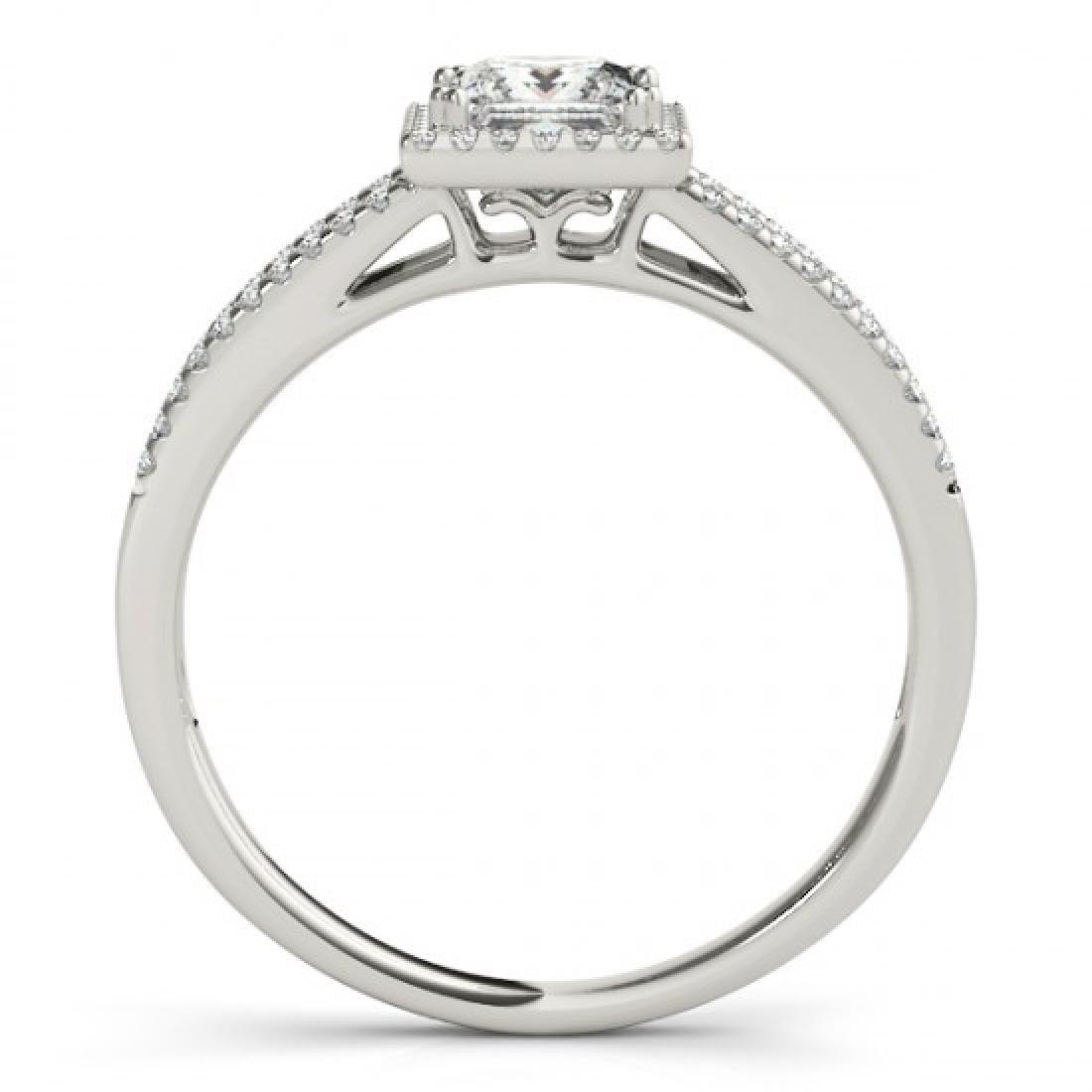 0.85 CTW Certified VS/SI Princess Diamond Solitaire - 2
