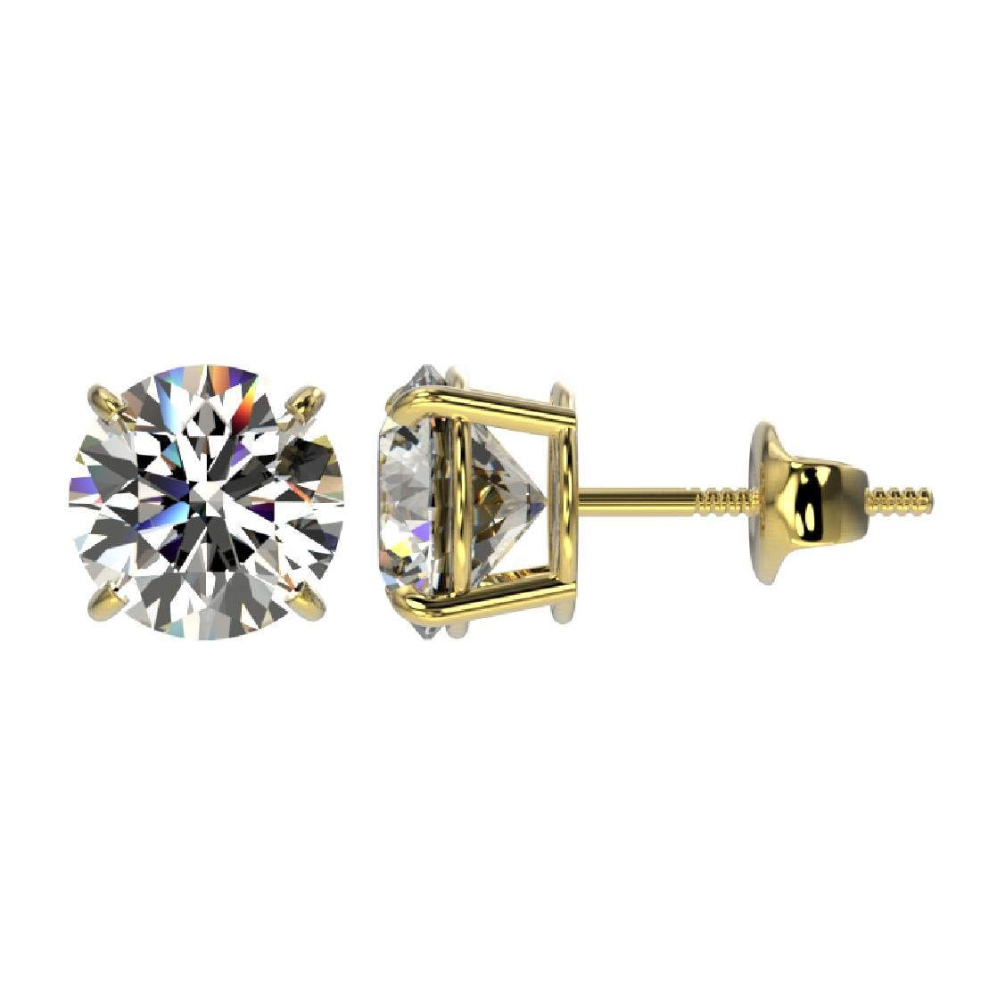 2.09 CTW Certified H-SI/I Quality Diamond Solitaire - 2