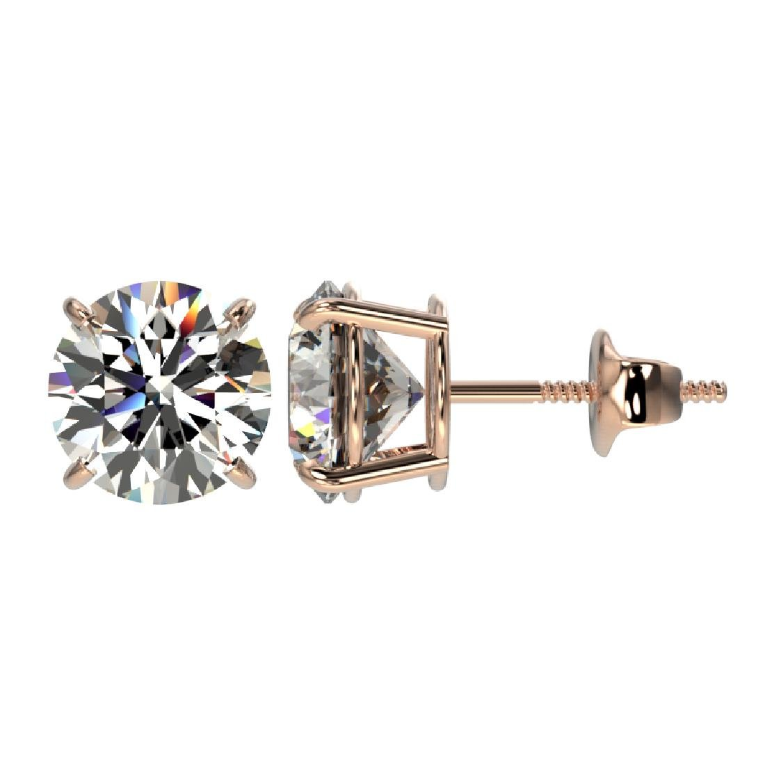 2.50 CTW Certified H-SI/I Quality Diamond Solitaire - 2