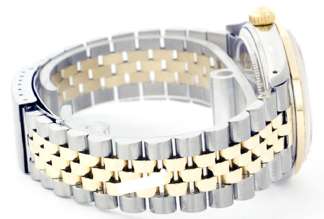 Rolex Men's Two Tone 14K Gold/SS, QuickSet, Diam Pave - 2