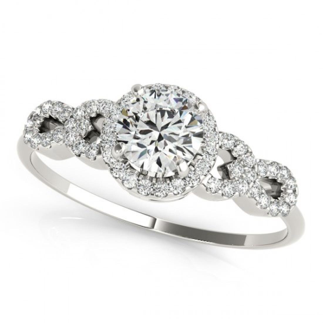 1.33 CTW Certified VS/SI Diamond Solitaire Ring 14K