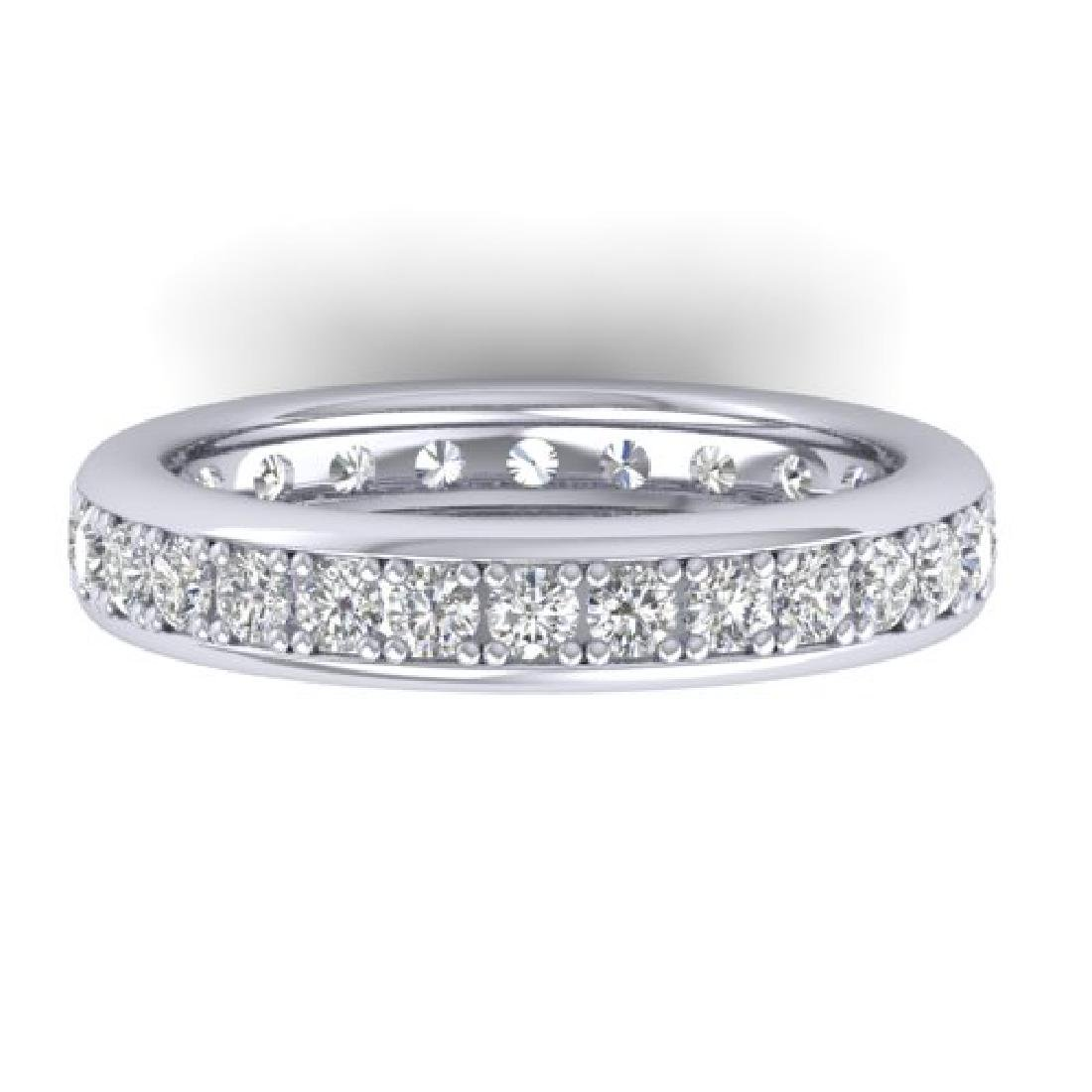 1.33 CTW Certified VS/SI Diamond Eternity Band Ladies