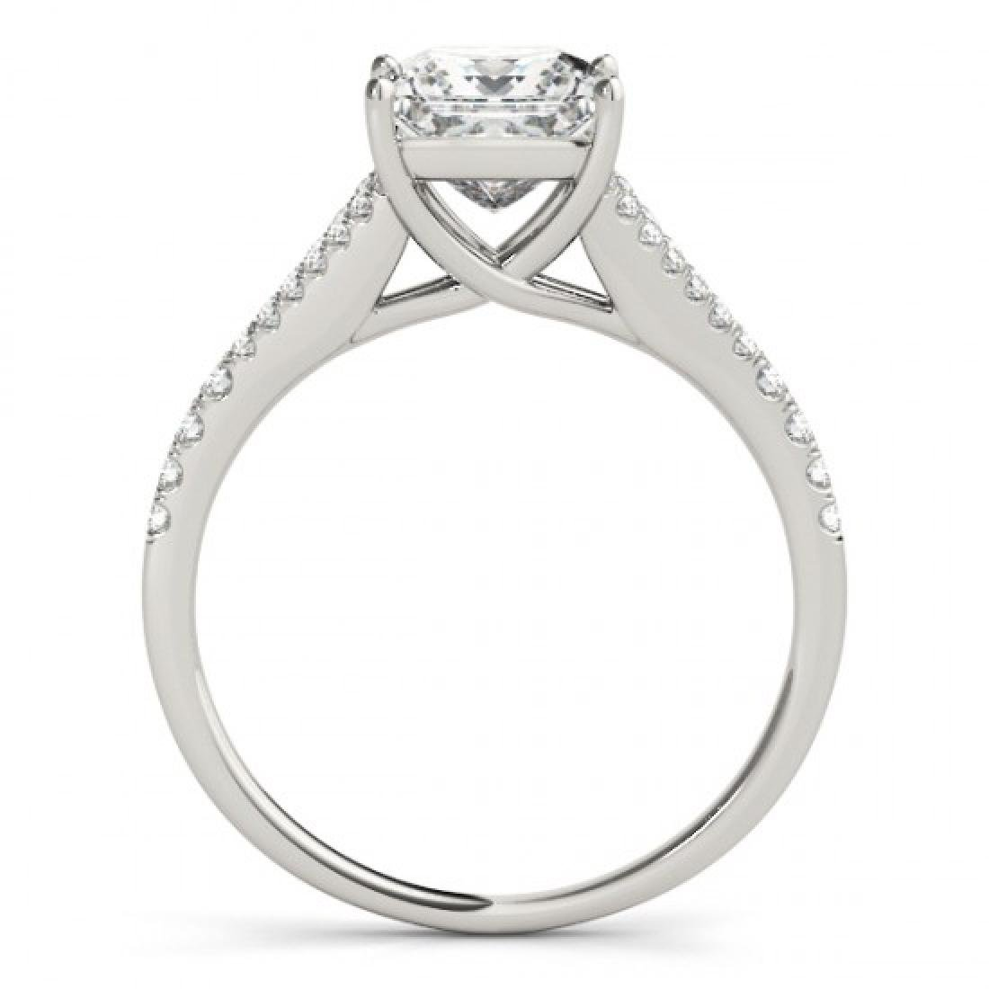 0.81 CTW Certified VS/SI Princess Diamond Solitaire - 2