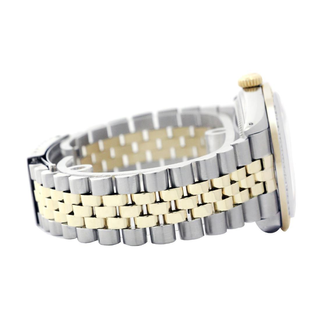 Rolex Men's Two Tone 14K Gold/SS , QuickSet, Diamond - 3