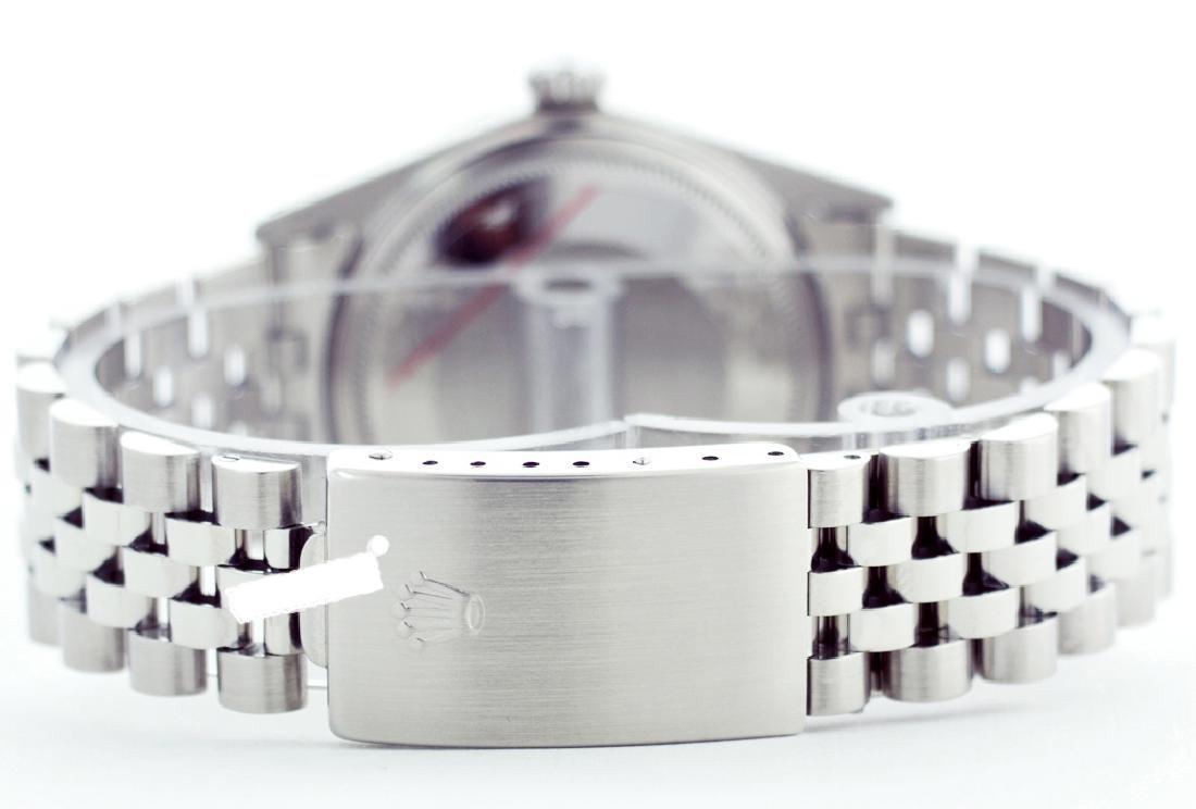Rolex Men's Stainless Steel, QuickSet, Diam Dial & - 3