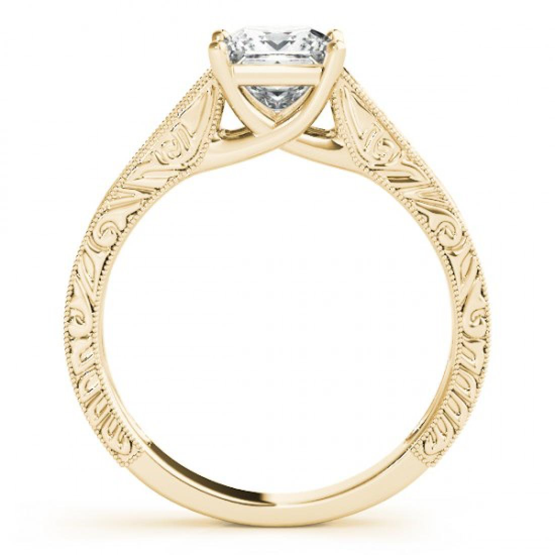 0.5 CTW Certified VS/SI Princess Diamond Ring 14K - 2
