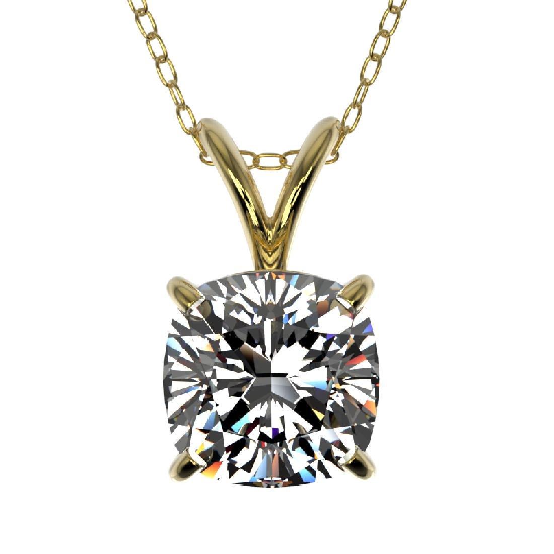 1 CTW Certified VS/SI Quality Cushion Cut Diamond