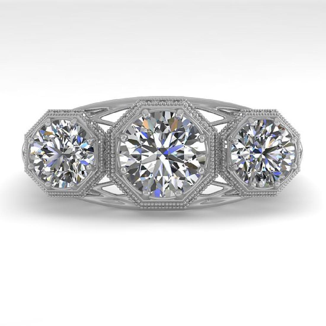 2 CTW VS/SI Diamond Ring 14K White Gold