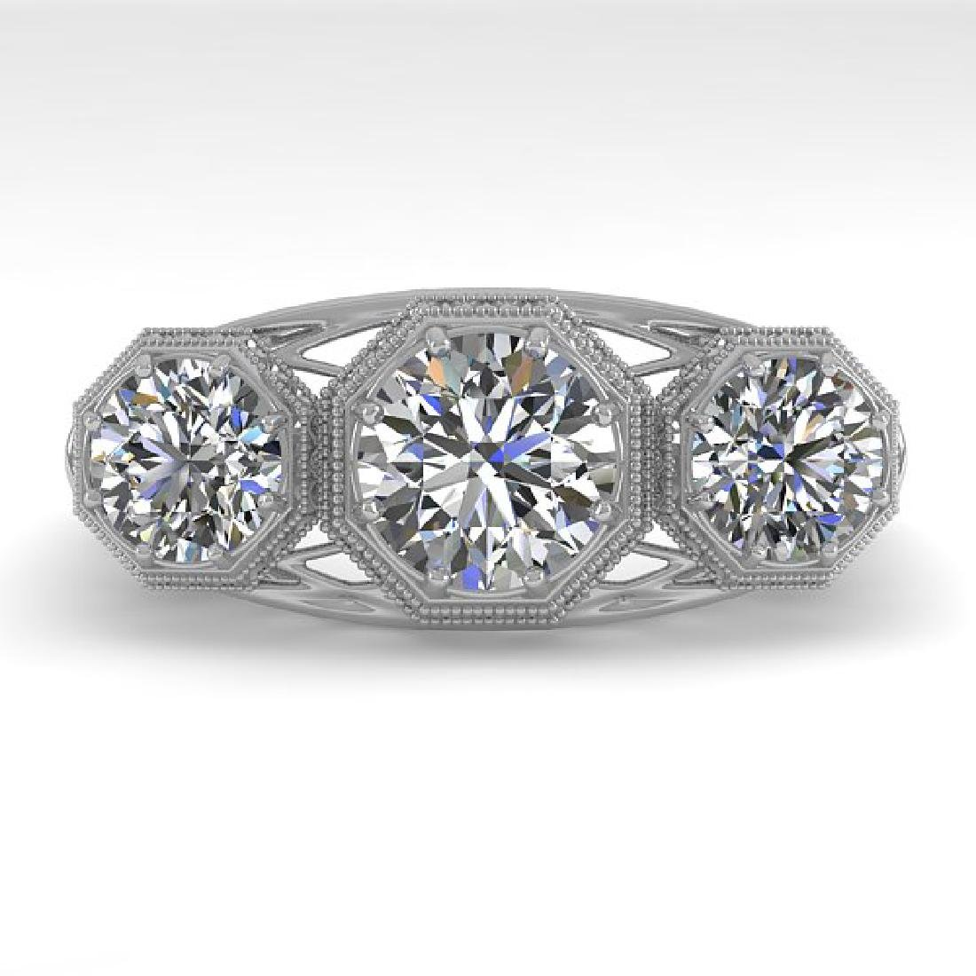 2 CTW VS/SI Diamond Ring 14K White Gold