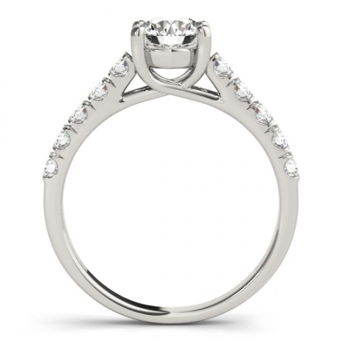 1.55 CTW Certified VS/SI Diamond Solitaire Ring 14K - 2