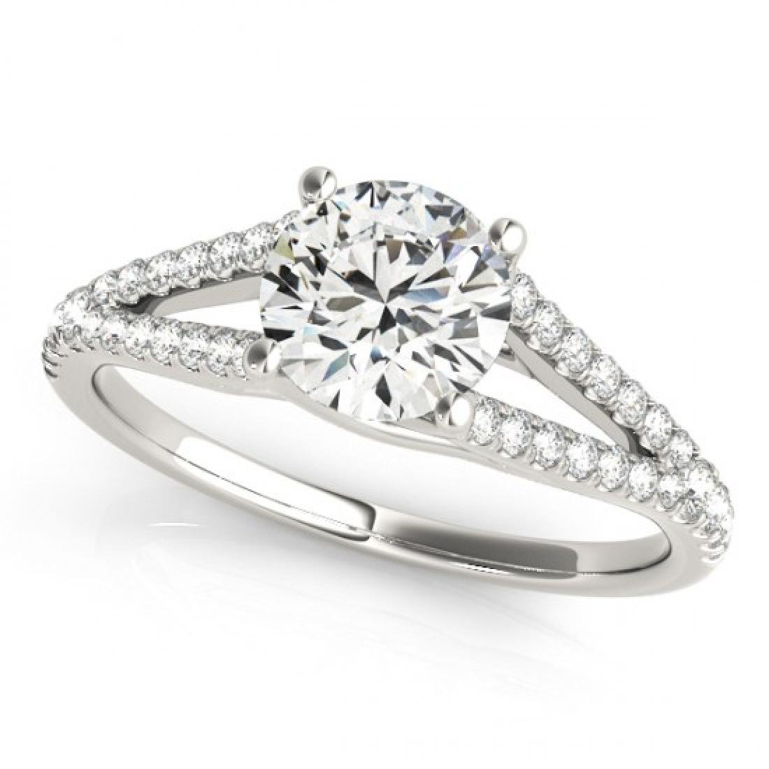 1.75 CTW Certified VS/SI Diamond Solitaire Ring 14K
