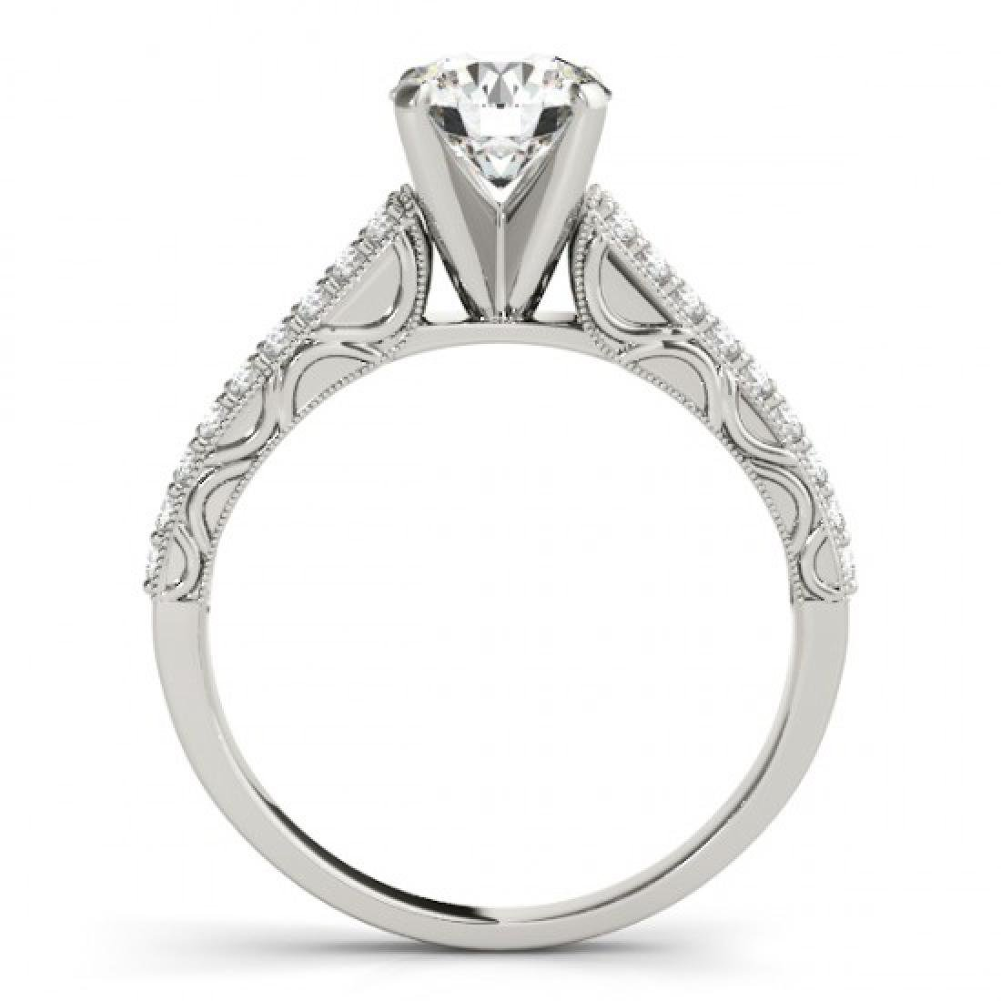 1.91 CTW Certified VS/SI Diamond Solitaire Antique Ring - 2