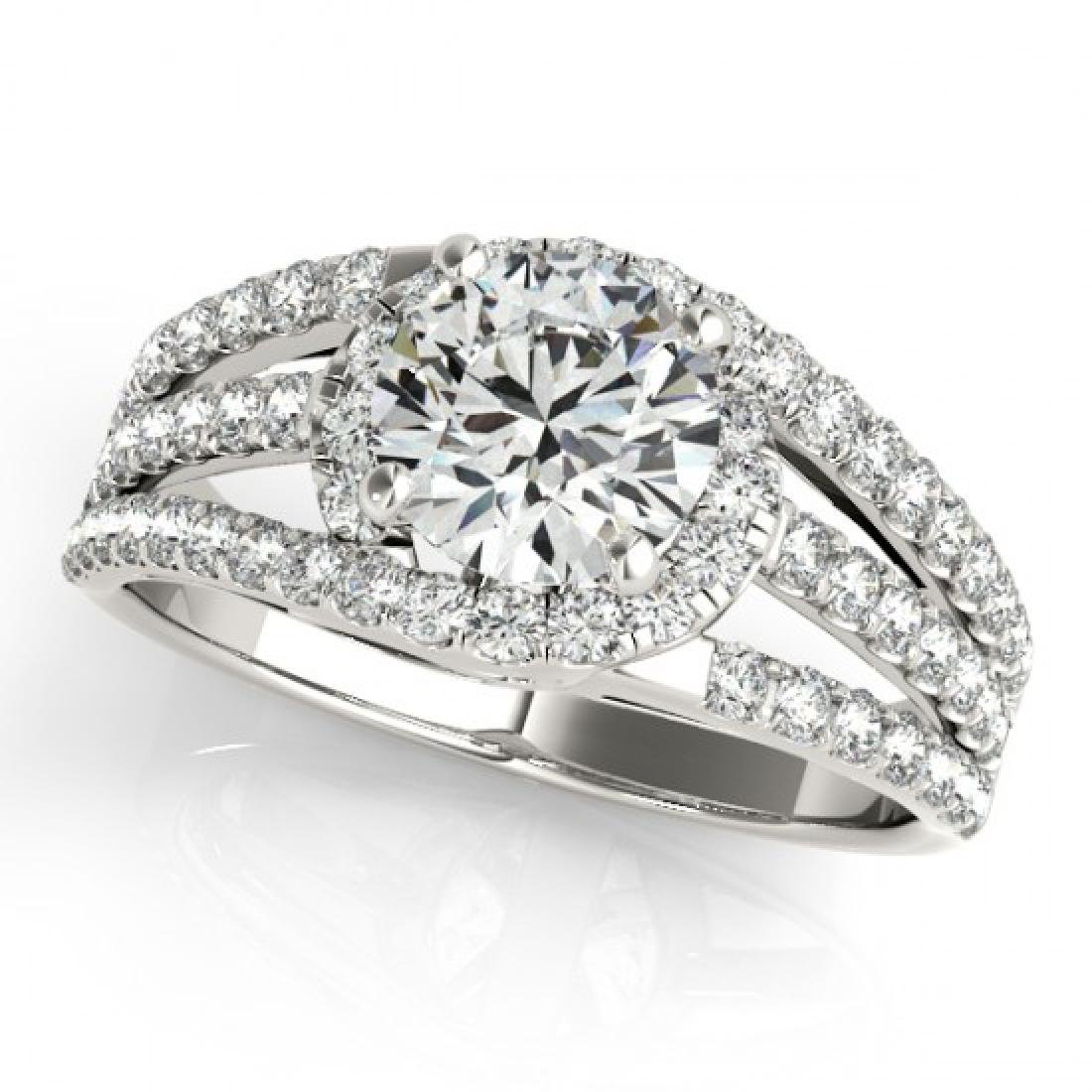 1.25 CTW Certified VS/SI Diamond Solitaire Ring 14K