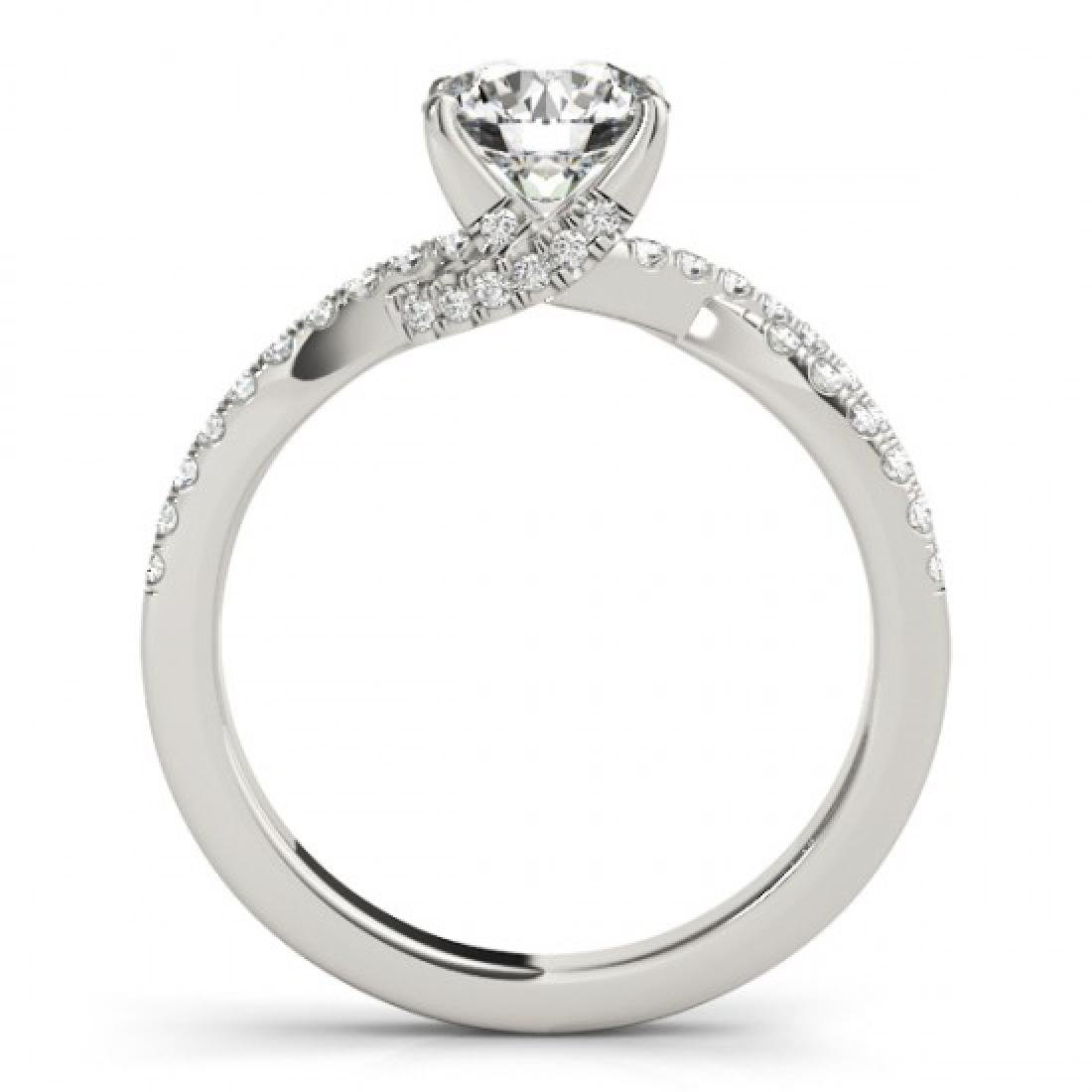 1.05 CTW Certified VS/SI Diamond Solitaire Ring 14K - 2