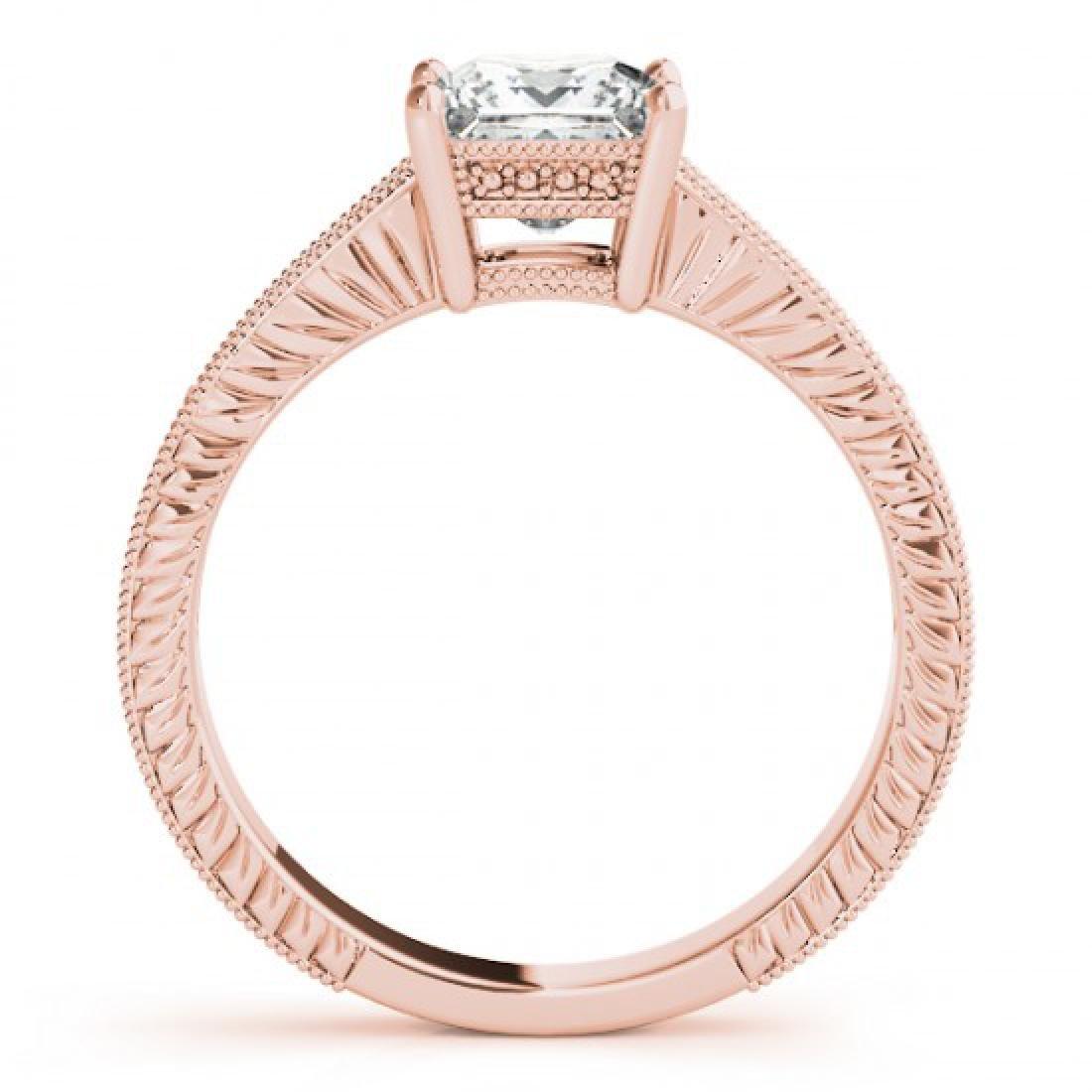 1.5 CTW Certified VS/SI Princess Diamond Solitaire - 2