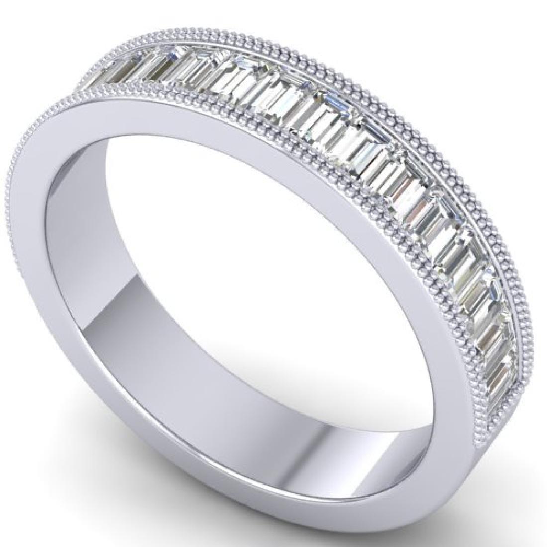 1.50 CTW Baguette Certified VS/SI Diamond Art Deco - 2