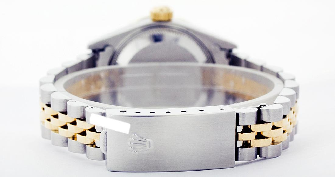 Rolex Ladies Two Tone 14K Gold/ss, Diam Dial & - 3