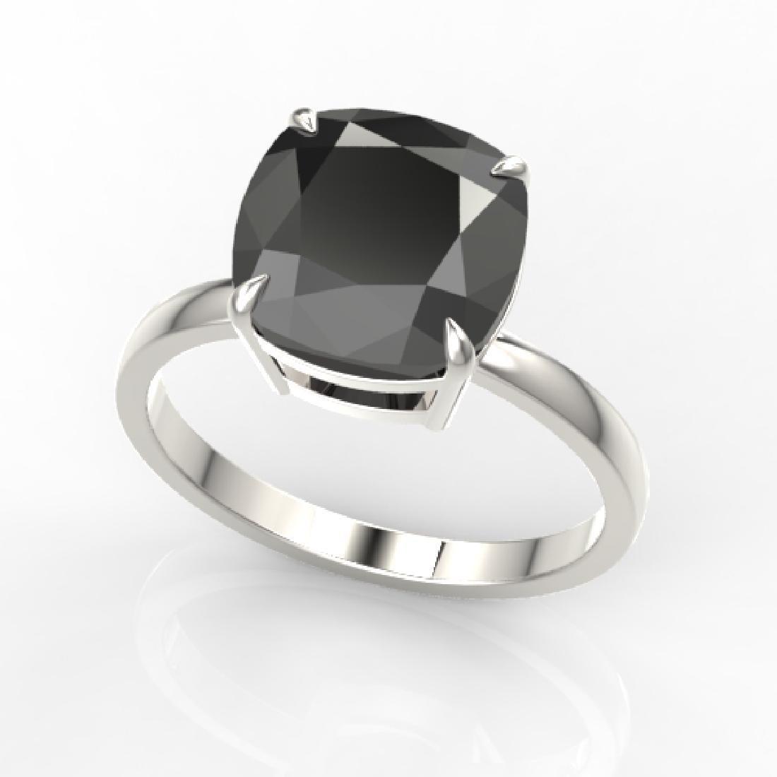 6 CTW Black VS/SI Diamond Designer Inspired Engagement - 2